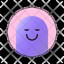 Smiling Face With Closed Eyes Emoji Emoticon Icon