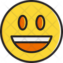 Smiling face with open mouth Icon