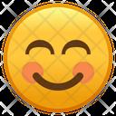 Smiling Face With Smiling Eyes Emoji Emoticon Icon