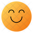 Smiling Face With Smiling Eyes Emoji Face Icon
