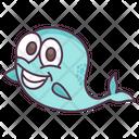 Fish Aquatic Animal Specie Icon