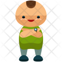 Smiling Crossed Arms Icon