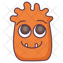 Smiling Monster Icon