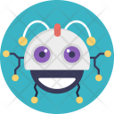 Smiling Robot Icon