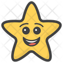 Smiling Star Icon