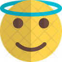 Smiling With Halo Icon
