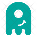 Smirk Cyclop Ghost Icon