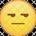 Smirk Envy Emoji Icon