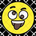 Naughty Face Emoticon Smiley Icon