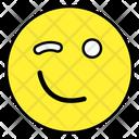 Smirk Emoji Emoticon Smiley Icon