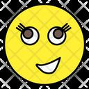 Smirk Emoji Emotion Emoticon Icon