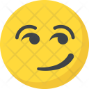 Smirking Emoticon Icon