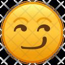 Smirking Face Emoji Emoticon Icon