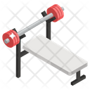 Smith Machine Gym Equipment Muscle Building Icon