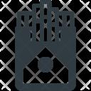 Smoke Cigarette Box Icon