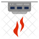 Smoke Detection Icon
