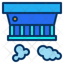 Detector Smoke Fire Icon