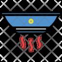 Smoke Detector Sensor Alarm Icon