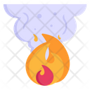 Smoke Fire Air Pollution Fire Icon