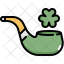 Pipe Leaf Saint Patricks Day Icon