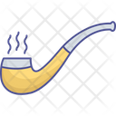 Inhaling Device Smoke Pipe Tobacco Filter Icon