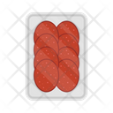 Food Meal Salami Icon