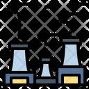Smokestack Factory Industrial Icon