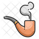 Smoking Smoke Pipe Icon