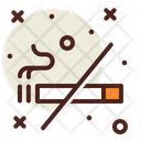 Smoking No Smoking No Cigarette Icon