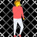 Male Smoker Smoking Icon
