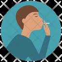Smoking Injury Health Icon