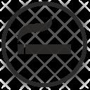 Label Smoke Sigarette Icon