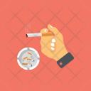 Smoking Addiction Icon