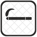 Smoke Smoking Room Icon
