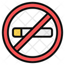 Smoking Forbidden Smoking Prohibited Quit Smoking Icon