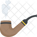 Smoking Pipe Tobacco Icon