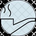 Summer Smoking Pipe Icon