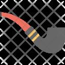 Smoking Pipe Tobacco Icon