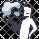 Smoking Pollution Icon
