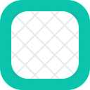 Smooth Square Double Icon