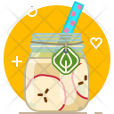 Smoothie Apple Drink Icon
