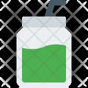 Smoothie Drink Jar Icon