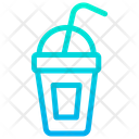 Cold Drink Take Away Straw Icon