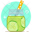Smoothie Cucumber Drink Icon