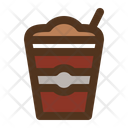 Smoothie Drink Glass Icon