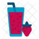 Smoothy Cocktail Glass Icon