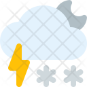 Smowflake Night Thunder Icon