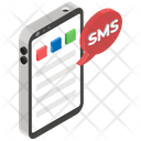 Mobile Sms Mobile Messaging Mobile Chatting Icon
