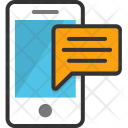 Sms Mobile Conversation Icon