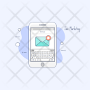 Sms Marketing Text Icon